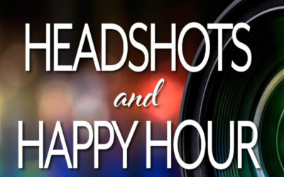 August 2018 Program: Join Us for Headshots & Happy Hour